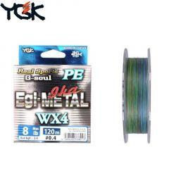 Fir textil YGK RS G-Soul Egi Metal WX4 nr 1/120m
