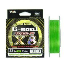 Fir textil YGK RS G-Soul X8 Upgrade 0.128mm/14lb/150m