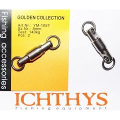 Varteje Ichthys cu Rulment 8mm/140kg