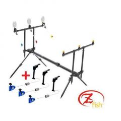 Rod Pod ZFish 3 Posturi + 3 Swingere Gratuit