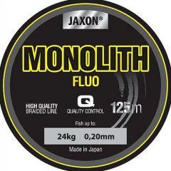 Fir textil Jaxon Monolith Fluo 0.25mm/30kg/125m