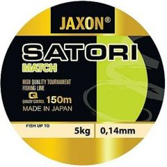 Fir monofilament Jaxon Satori Match 0,20mm/9kg/150m