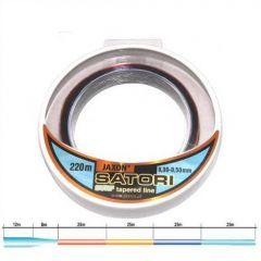 Fir monofilament Jaxon Satori Surf cu inaintas conic 0,30-0,50mm 220 m